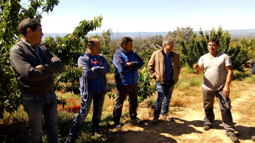 Viaje formativo de productores caderechanos  al Valle del Jerte