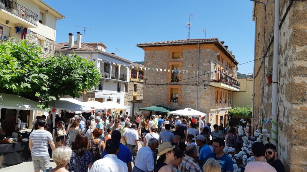 XVI Feria de la Cereza del Valle de Las Caderechas en Aguas Cándidas