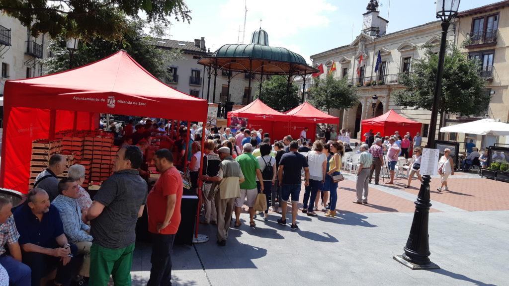 Resumen de la Fiesta Gastronómica de la Cereza de Caderechas en Miranda de Ebro