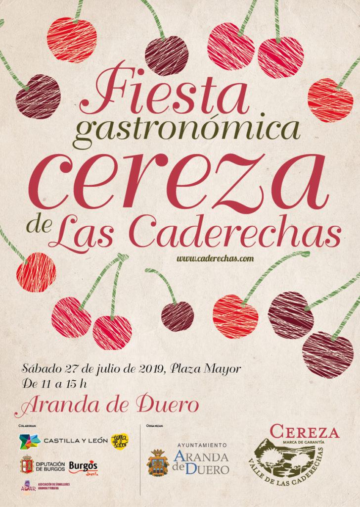 Fiesta Gastronómica de la Cereza de Caderechas en Aranda de Duero