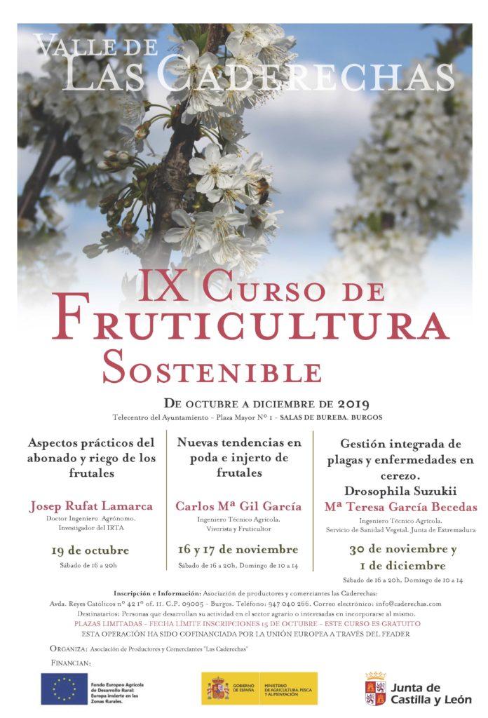 IX curso de Fruticultura Sostenible. «Valle de las Caderechas»