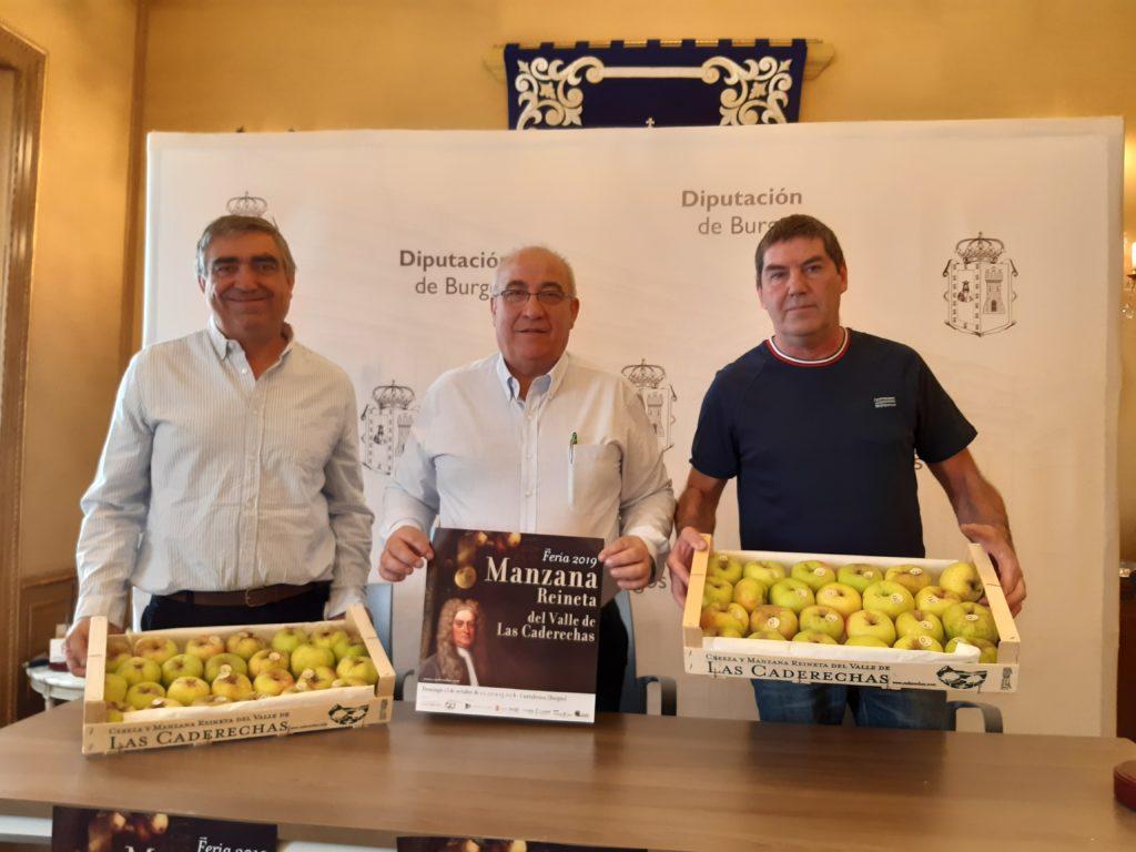 Todos los detalles para la Feria de la Manzana Reineta del Valle de Las Caderechas