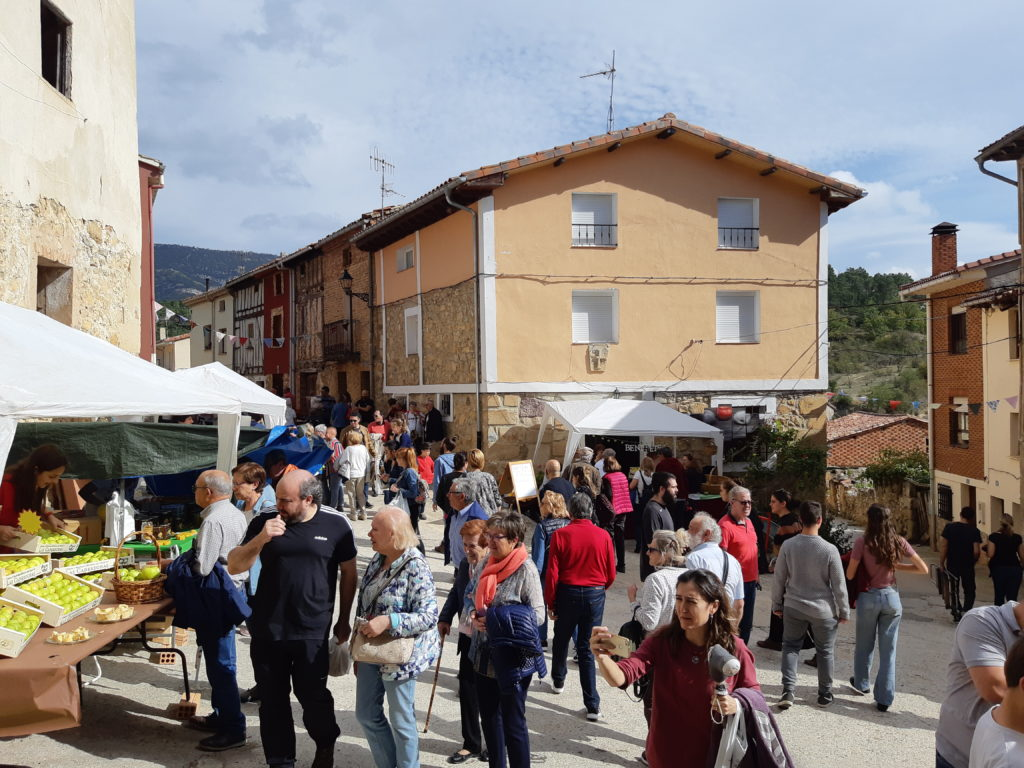 Resumen de la IX Feria de la Manzana Reineta del Valle de Las Caderechas