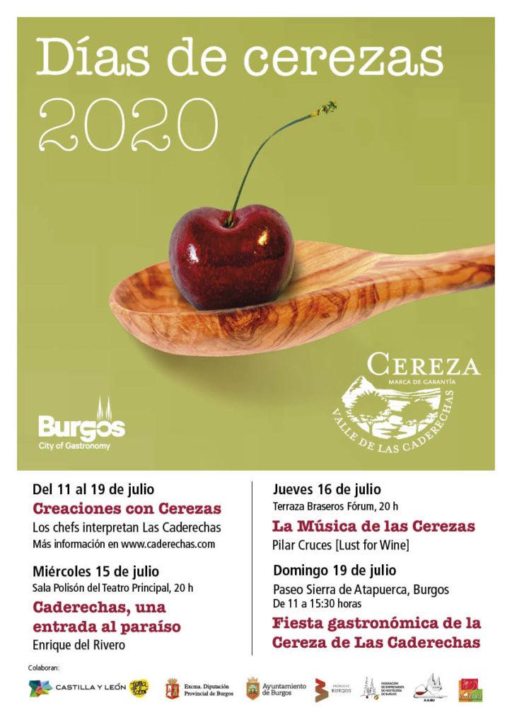 Fiesta Gastronómica de la Cereza de las Caderechas en #Burgos