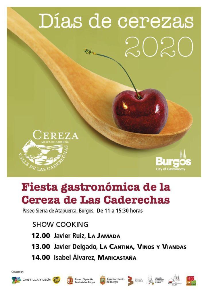 Resumen fotográfico de la Fiesta Gastronómica de la Cereza de las Caderechas en #Burgos