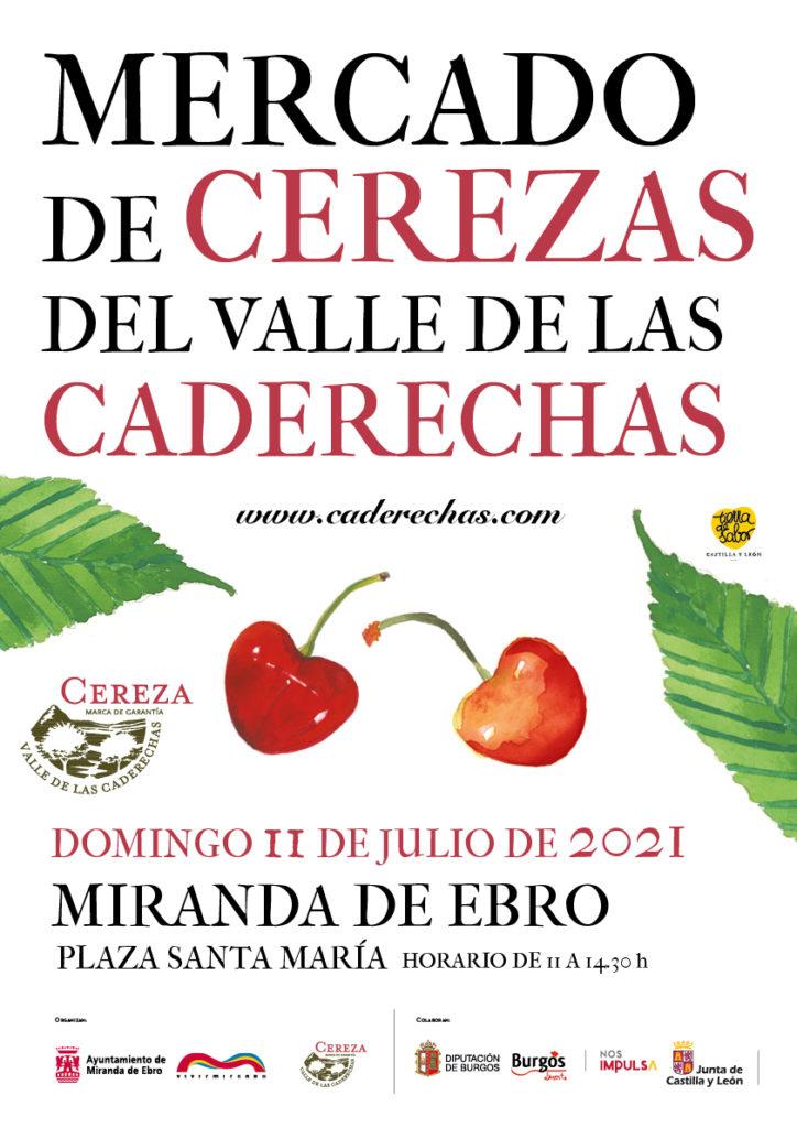 Mercado de Cerezas del Valle de las Caderechas en Miranda de Ebro