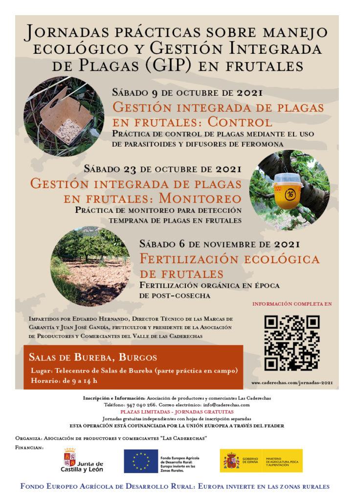 Jornadas prácticas sobre manejo ecológico y gestión integrada de plagas en frutales